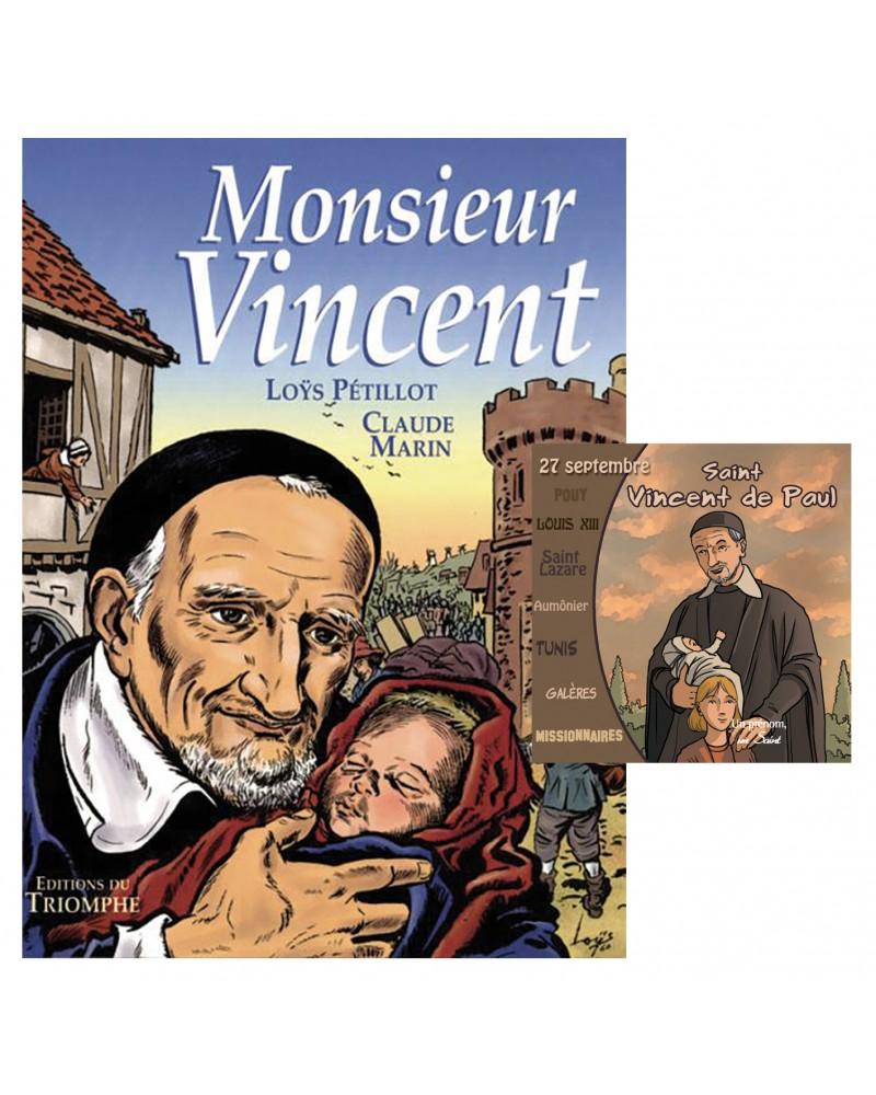 BD + CD Saint Vincent de Paul