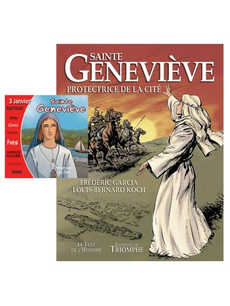BD + CD Sainte Geneviève