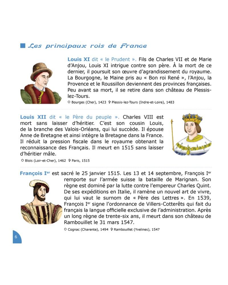 CD Petite histoire de France vol 2 (de François Ier à Louis XVI)