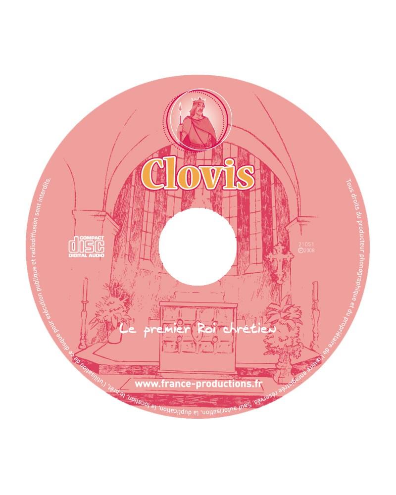 CD Clovis le premier roi chrétien