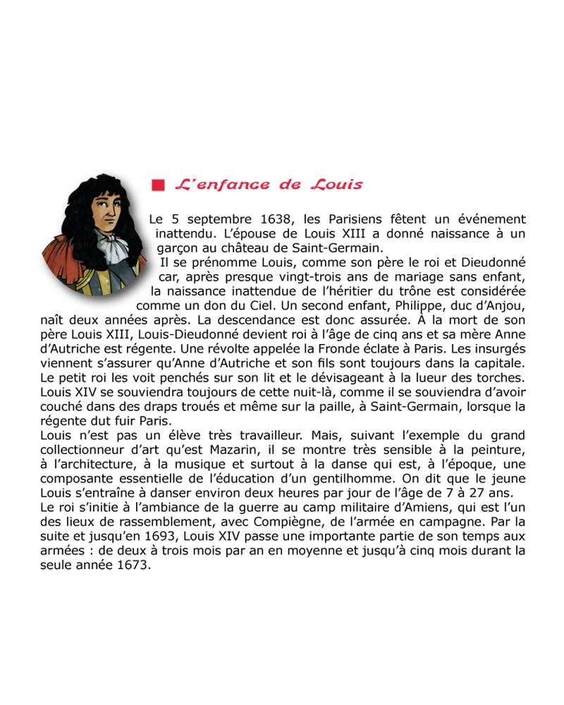CD Louis XIV le Roi Soleil