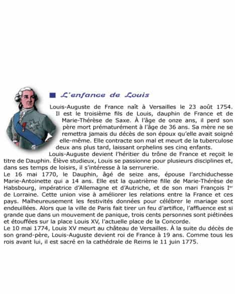 CD Louis XVI le Roi martyr