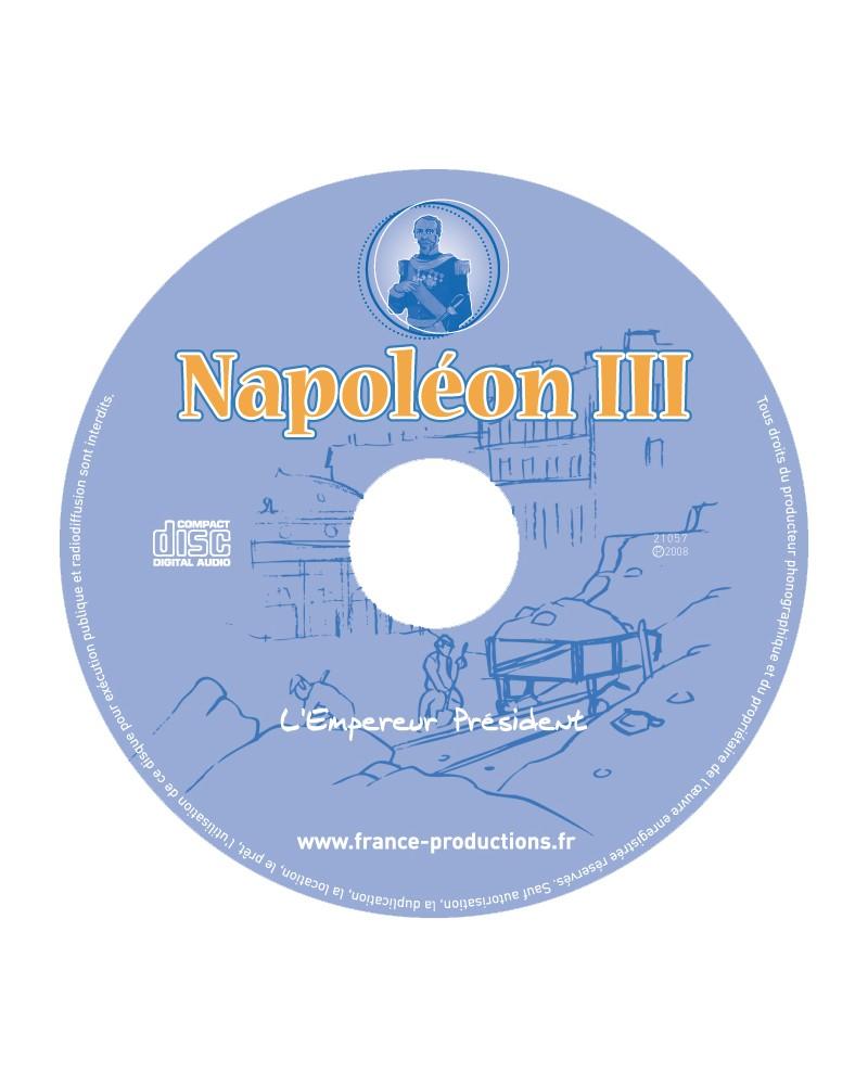 CD Napoléon III l'Empereur Président