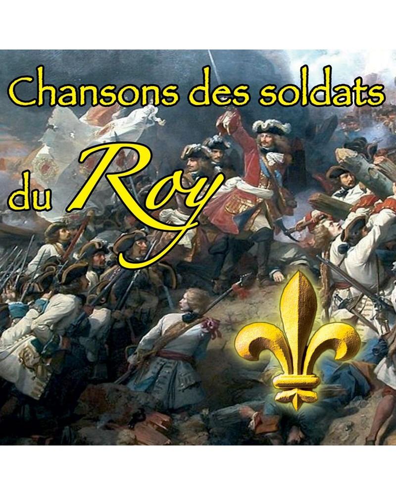 CD Chansons des soldats du Roy