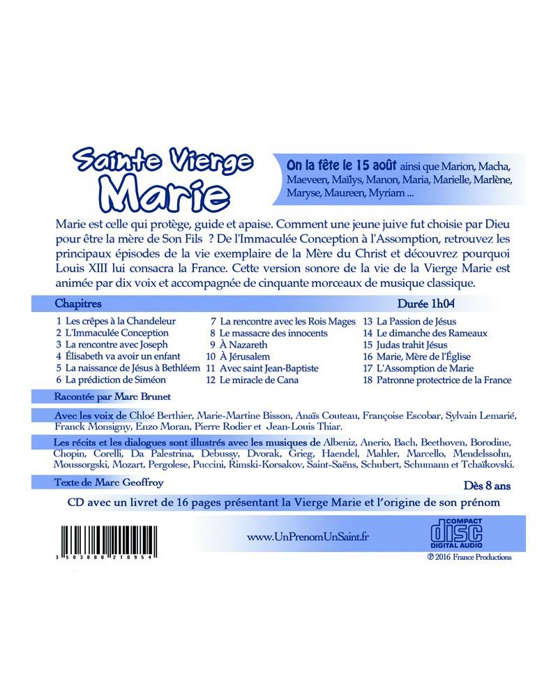 CD Sainte Vierge Marie