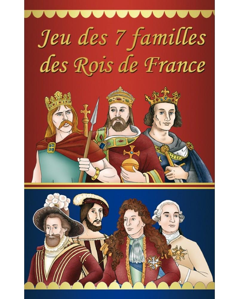 Boite du jeu des 7 familles des rois de France