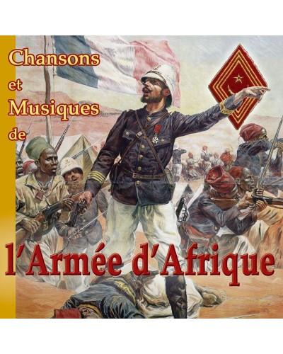 CD Chansons et musiques de l'Armée d'Afrique