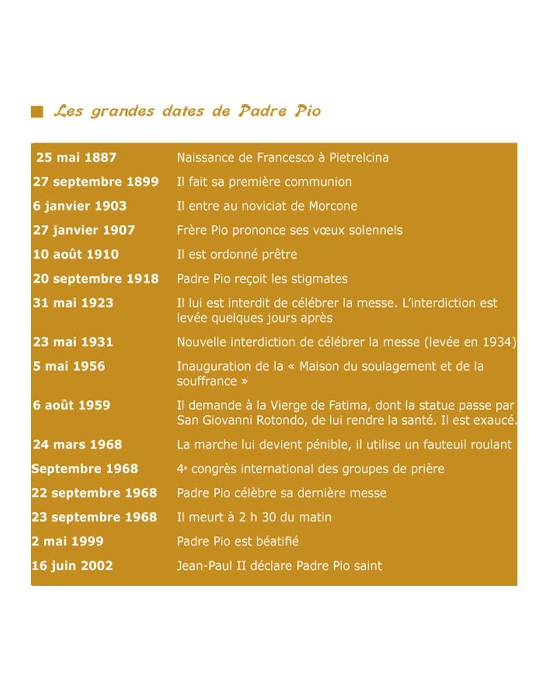 CD Saint Pio de Pietrelcina (Padre Pio)