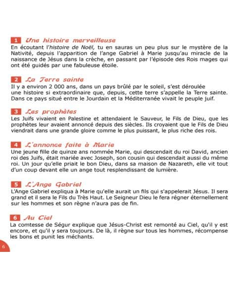 CD L'Histoire de Noël de la comtesse de Ségur