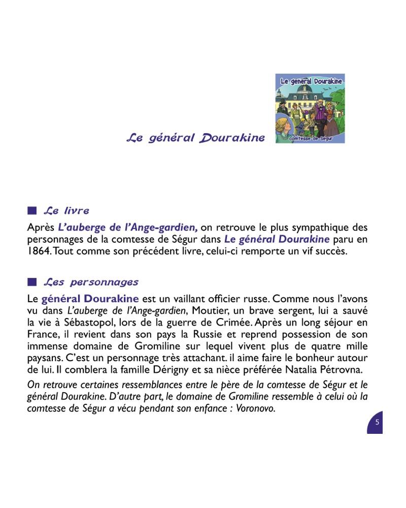 CD Le général Dourakine de la comtesse de Ségur