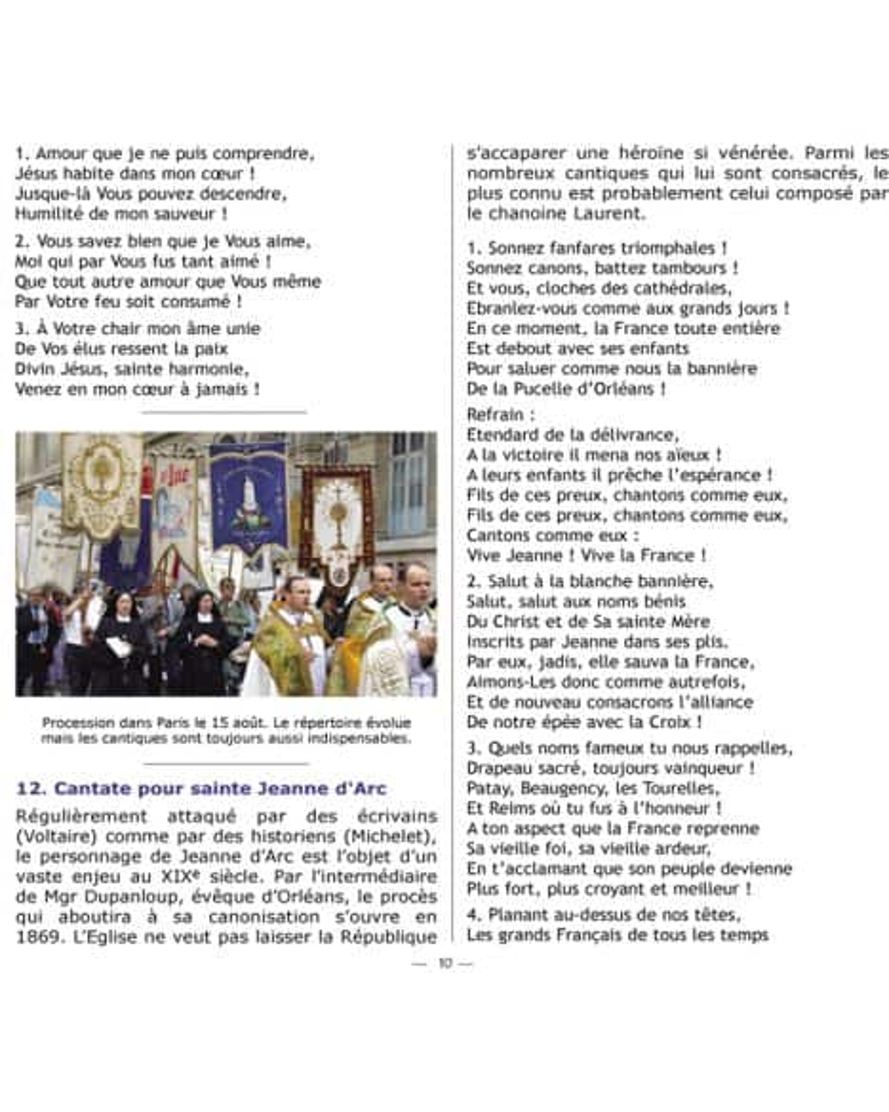 CD Cantiques catholiques de toujours VOL 1