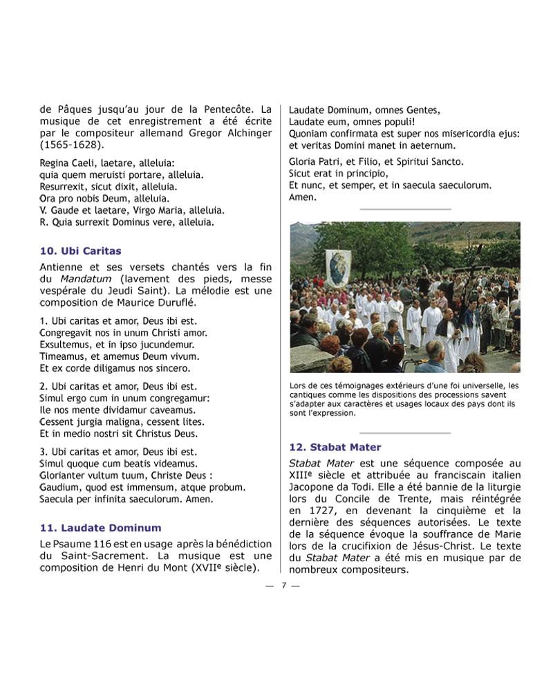 CD Cantiques catholiques de toujours VOL 3