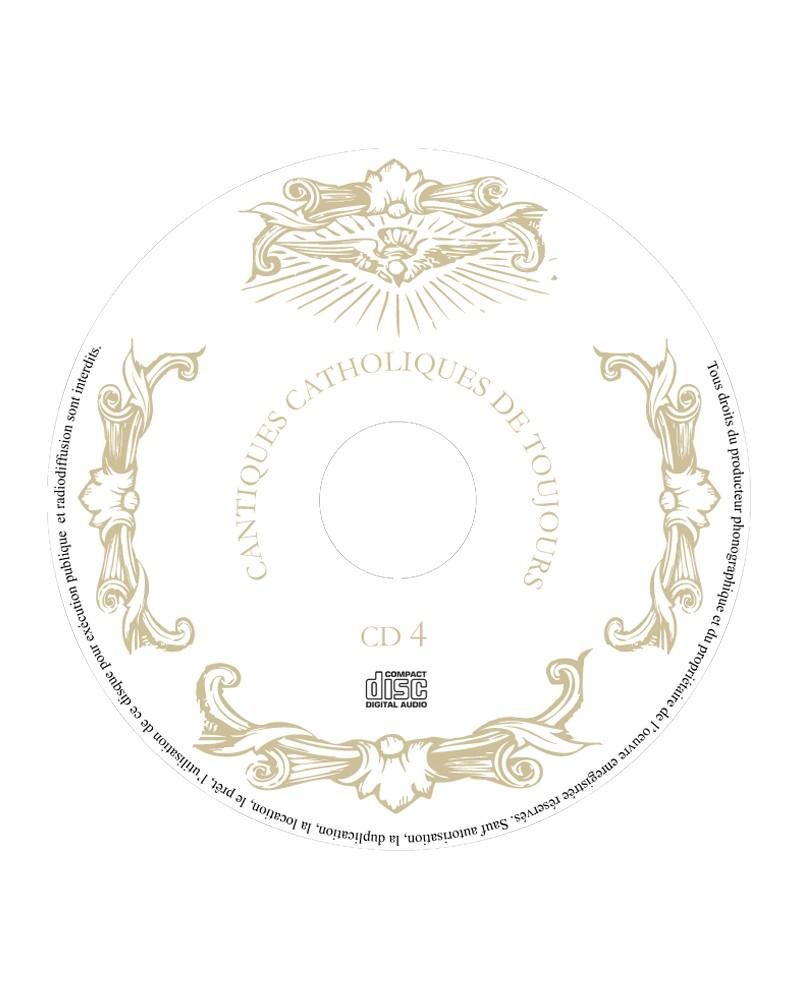 Coffret 4 CD Cantiques catholiques de toujours