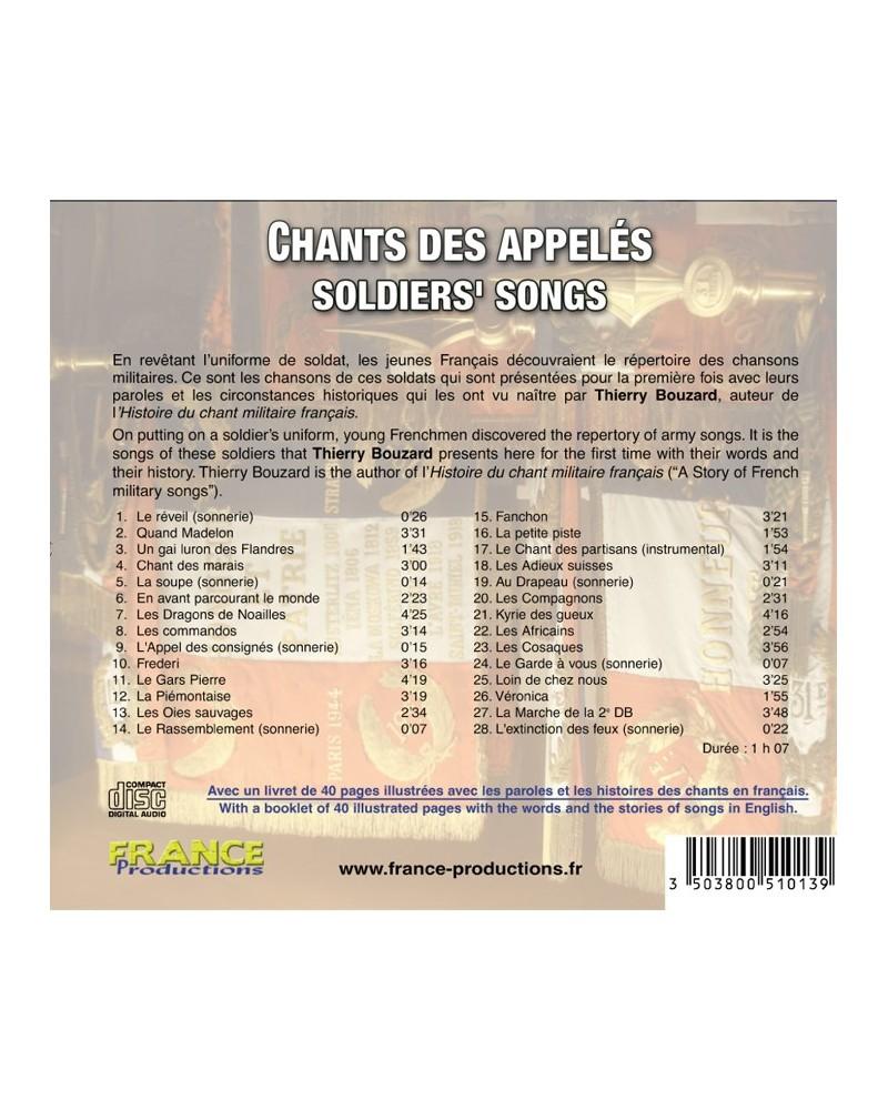 CD Chants des appelés