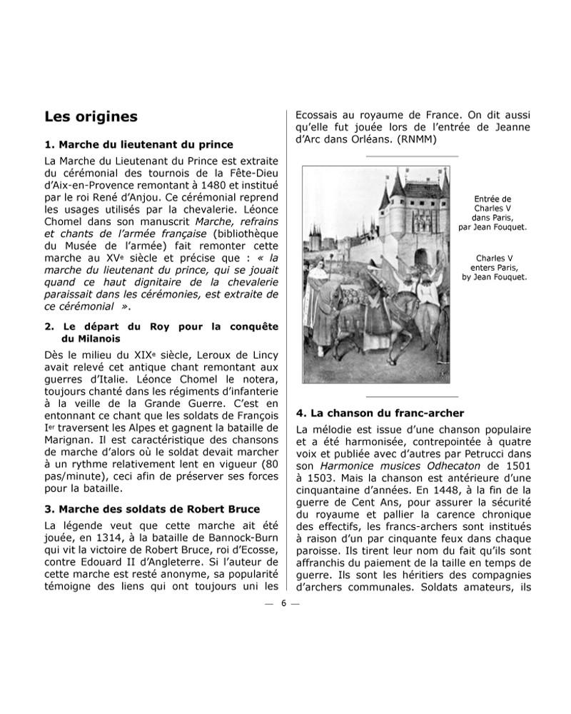 CD Anthologie de la musique militaire française vol 1