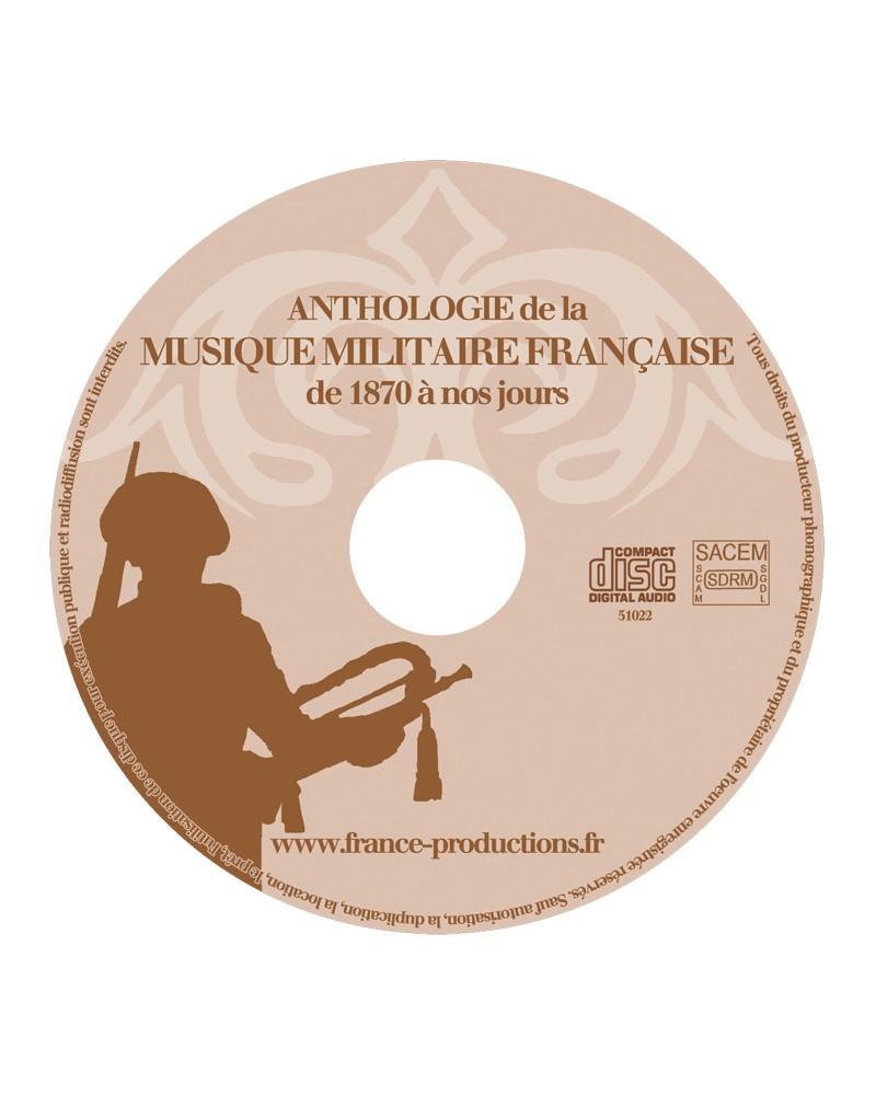 CD Anthologie de la musique militaire française vol 2