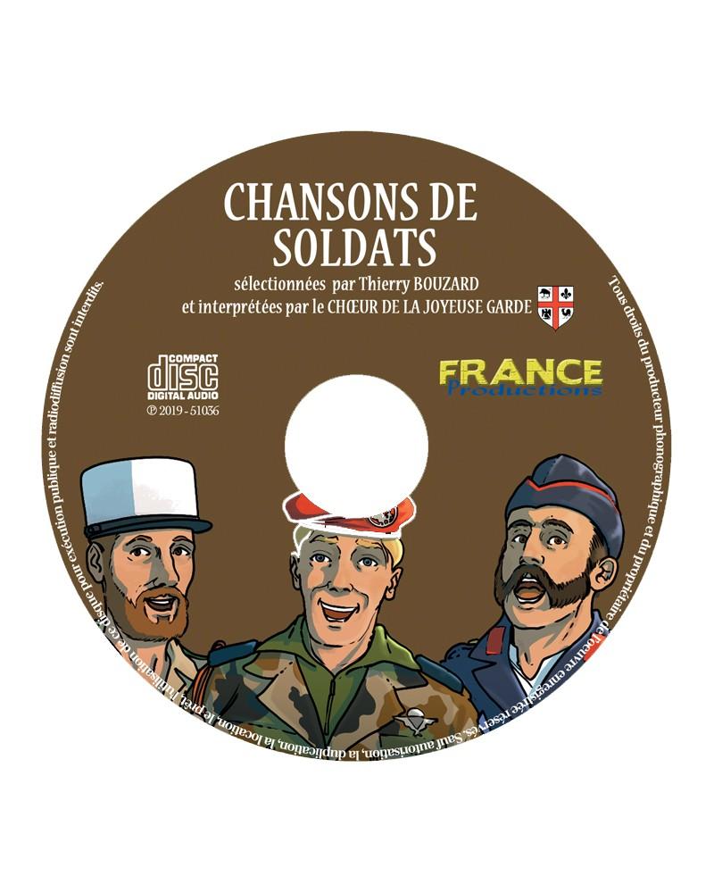 CD Chansons de soldats
