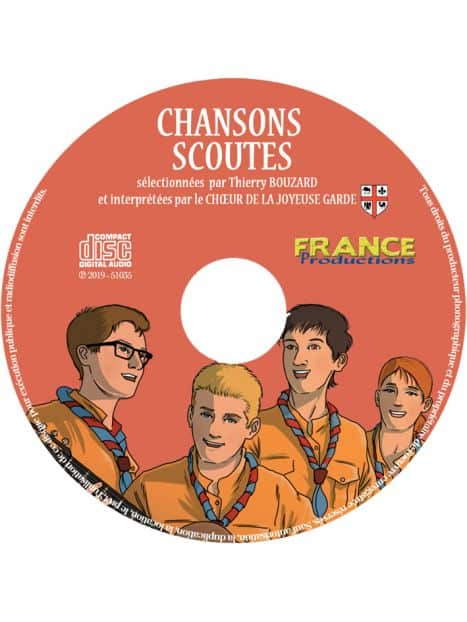 CD Chansons scoutes
