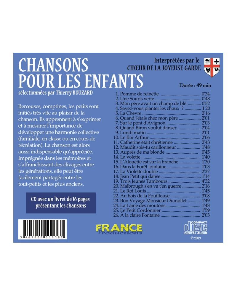CD Chansons pour les enfants