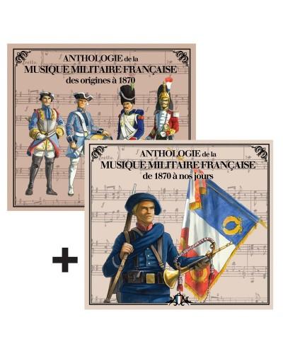 2 CD Anthologie de la musique militaire française