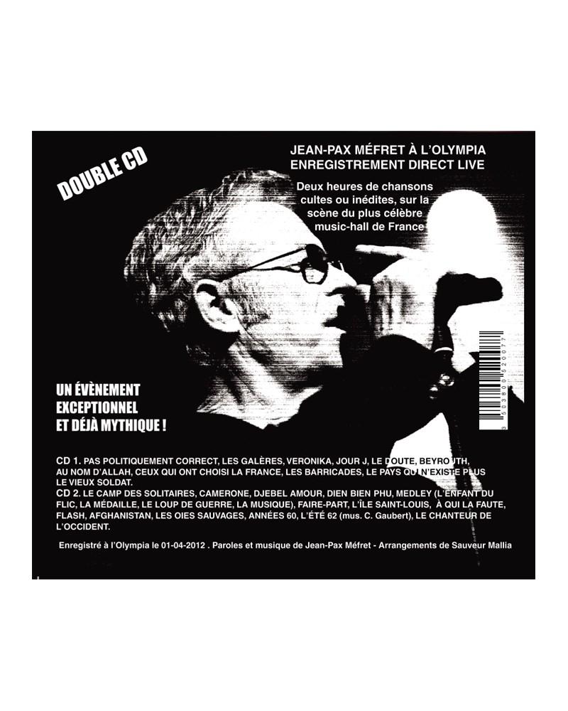 Double-CD Jean-Pax Méfret à l'Olympia