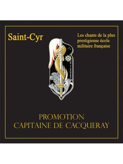 Double CD Saint-Cyr Promotion De Cacqueray (2009-2012)