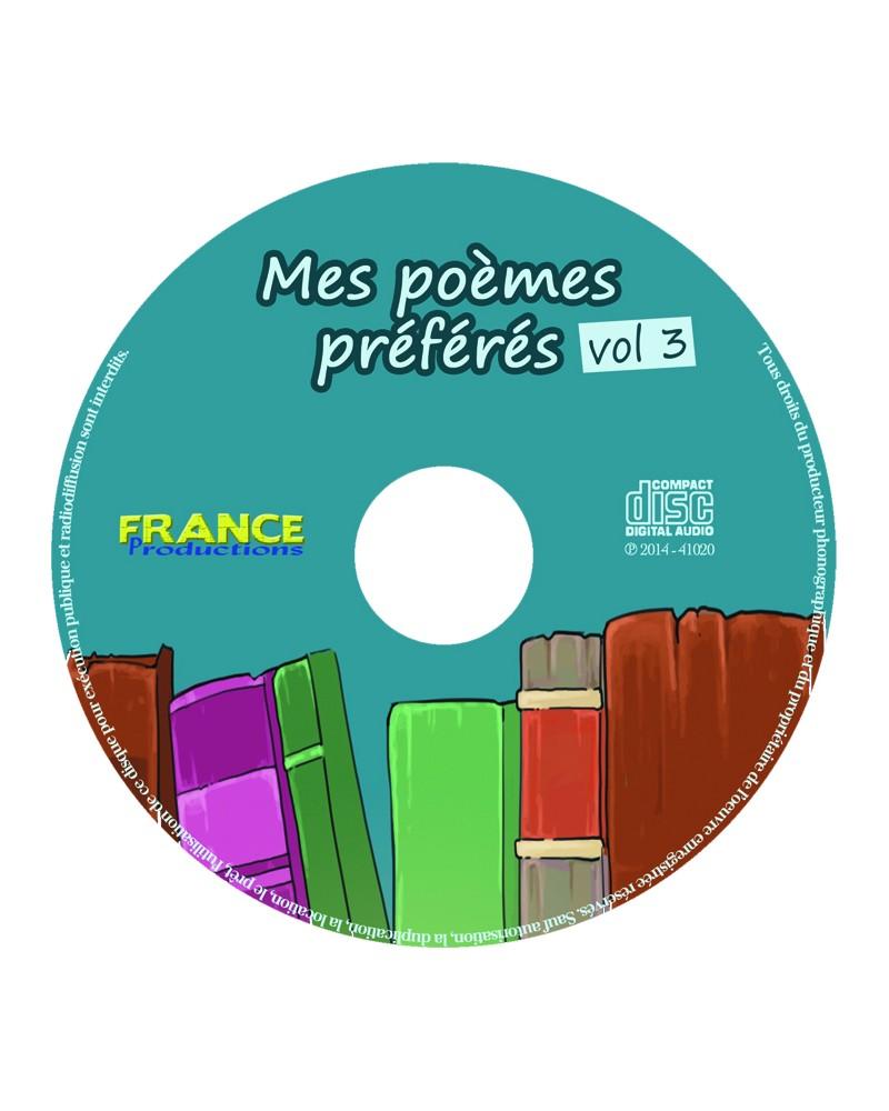 CD Mes poèmes préférés volume 3