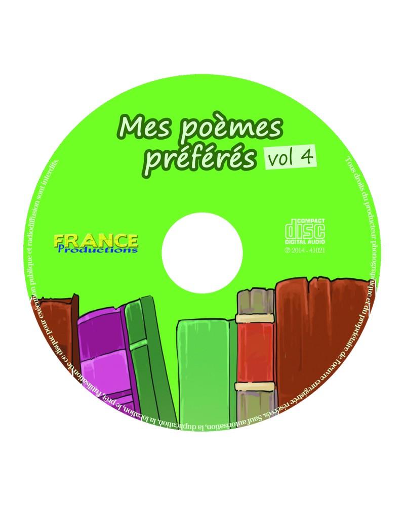 CD Mes poèmes préférés volume 4