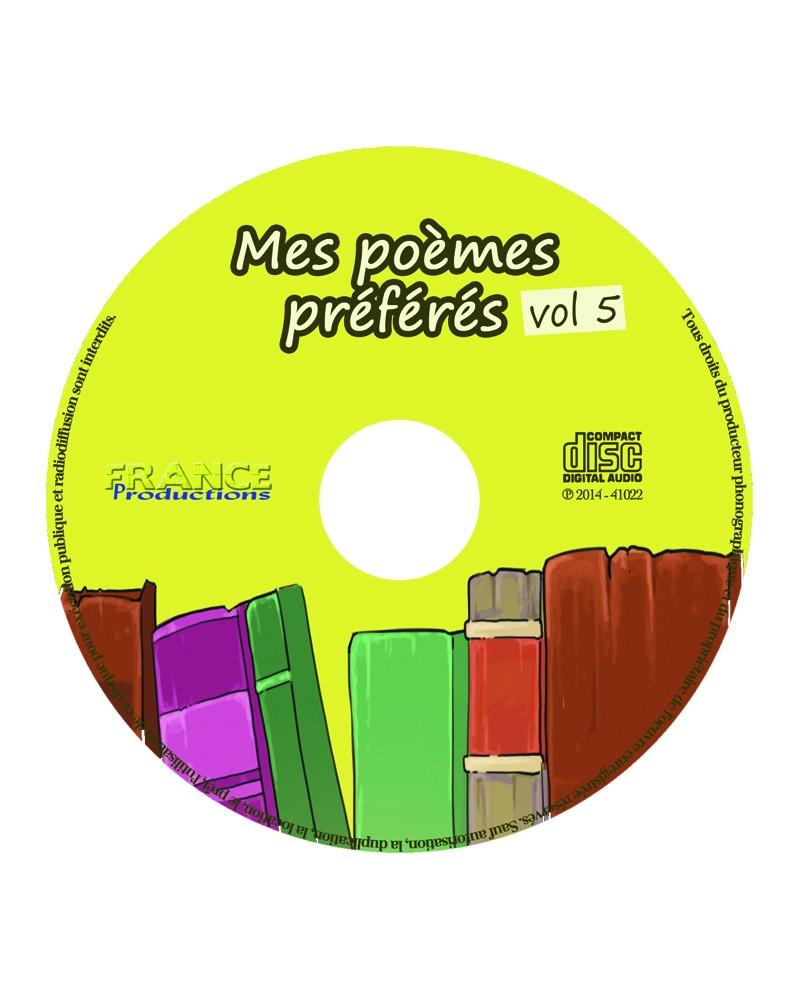 CD Mes poèmes préférés volume 5