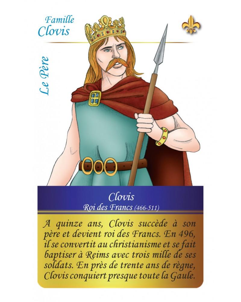 Famille Clovis - Le père