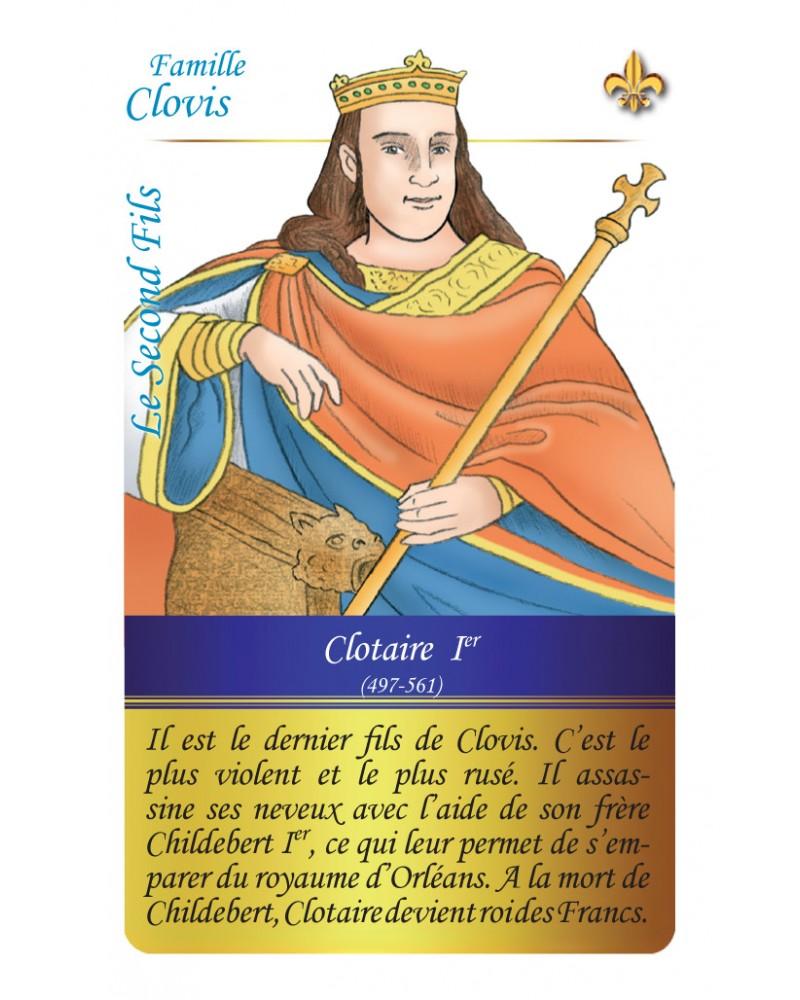 Famille Clovis - Le fils