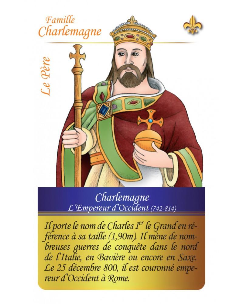 Famille Charlemagne - Le père