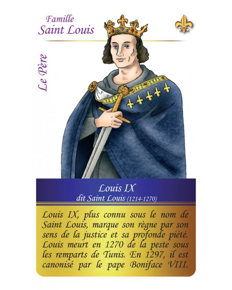 Famille Saint-Louis - Le père