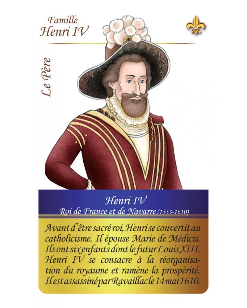 Famille Henri IV - Le père