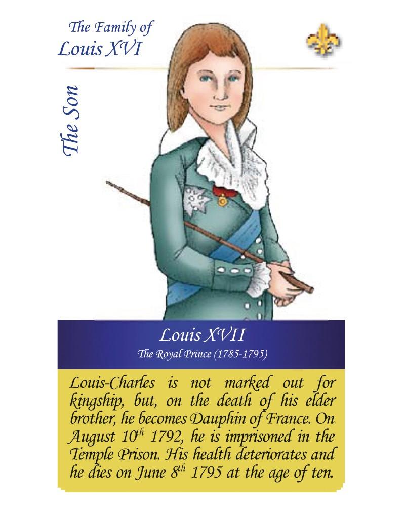 The family of Louis XVI - The son