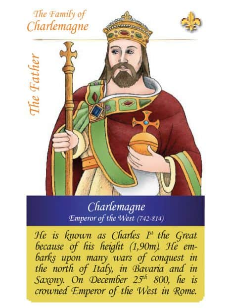 The family of Charlemagne - The father