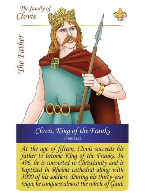 The family of Clovis - The father
