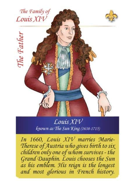 The family of Louis XIV - The father