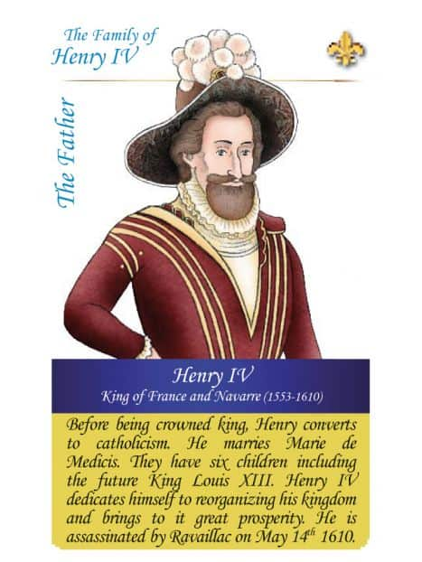 The family of Henri IV - The father