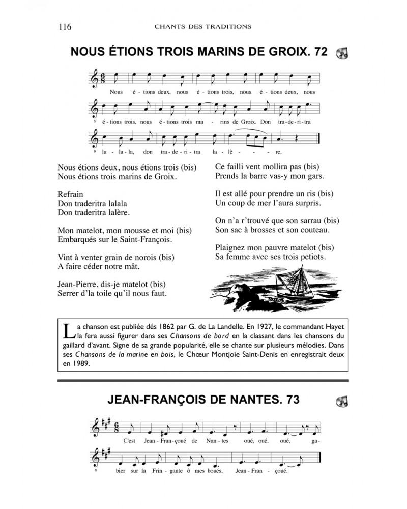 Les chants des traditions