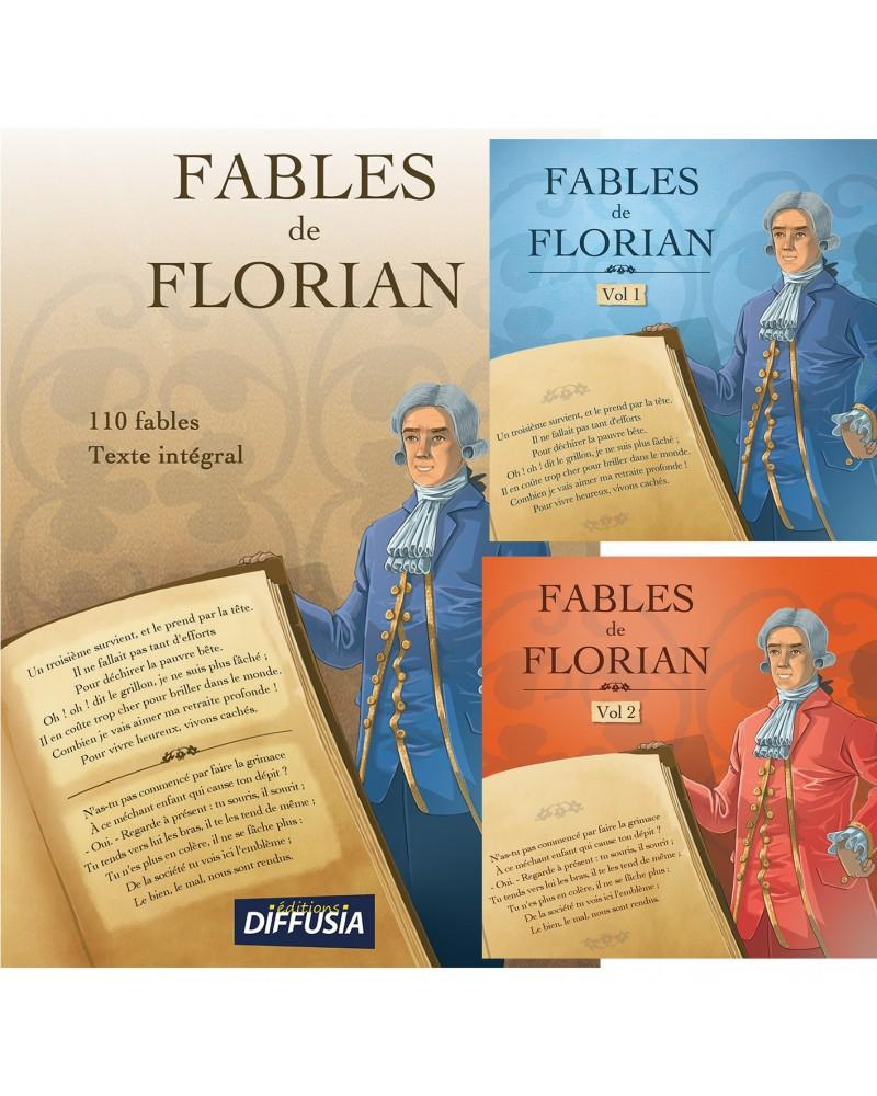 Fables de Florian le livre + les 2 CD