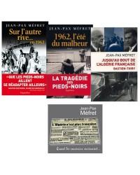 3 livres et 1 CD consacrés au drame des Français d'Algérie