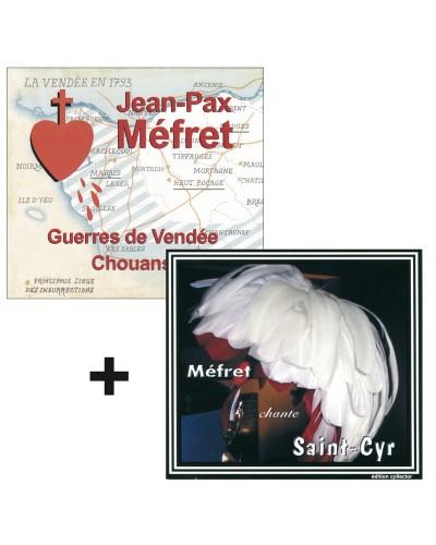 2 CD Guerres de Vendée & Méfret chante Saint-Cyr