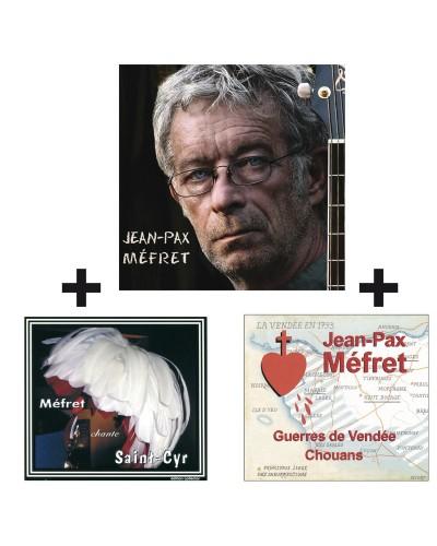 3 CD Le vieux soldat & Guerres de Vendée & Méfret chante Saint-Cyr