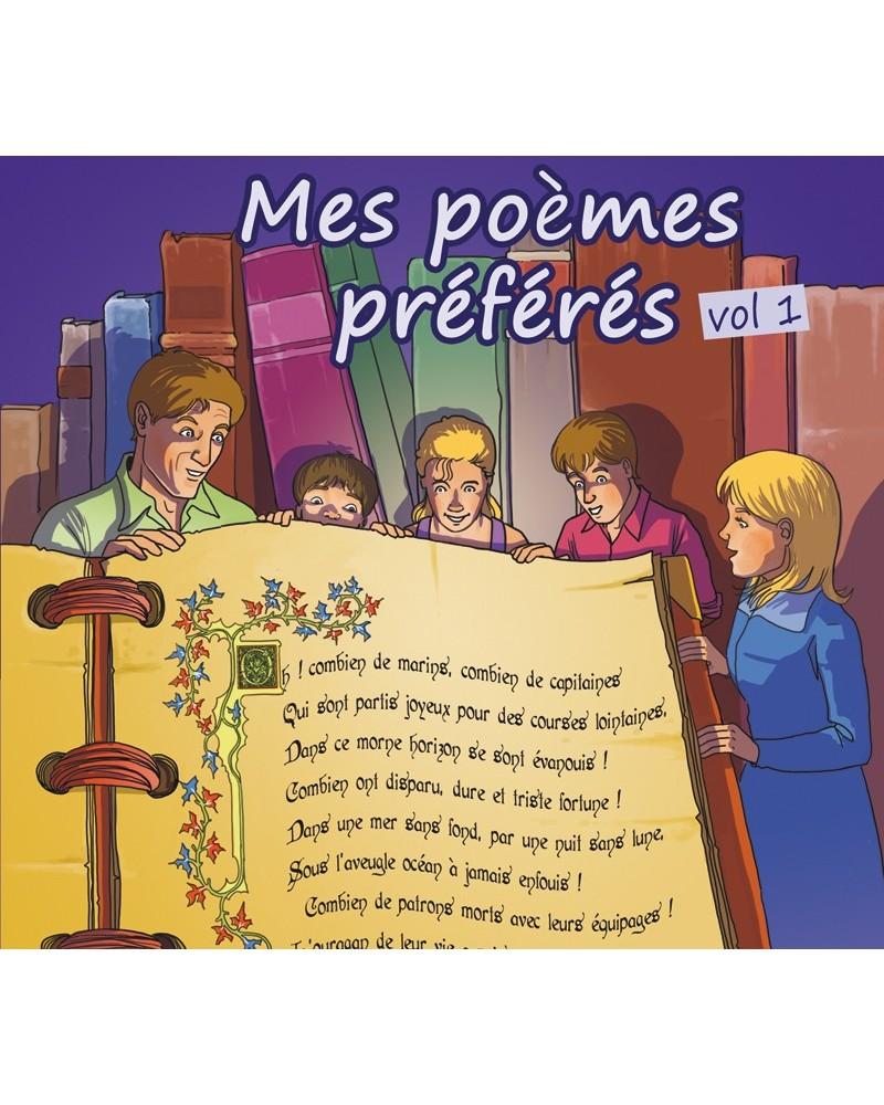 CD Mes poèmes préférés volume 1