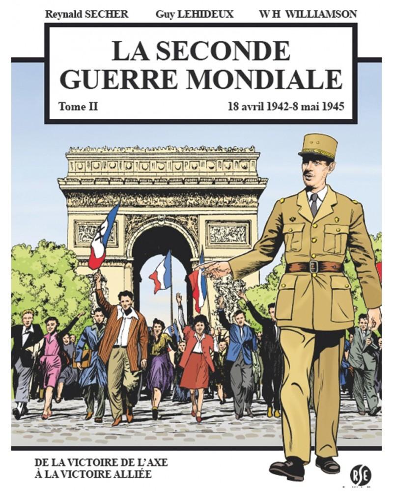 BD La Seconde Guerre mondiale tome 2 (1942-1945)