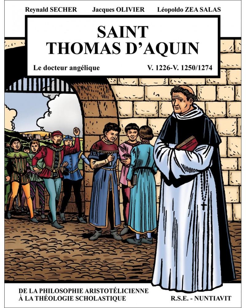 La BD Saint Thomas d'Aquin, le docteur Angélique
