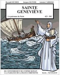 La BD Sainte Geneviève, la patronne de Paris