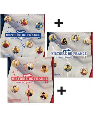 Petite histoire de France en 3 CD