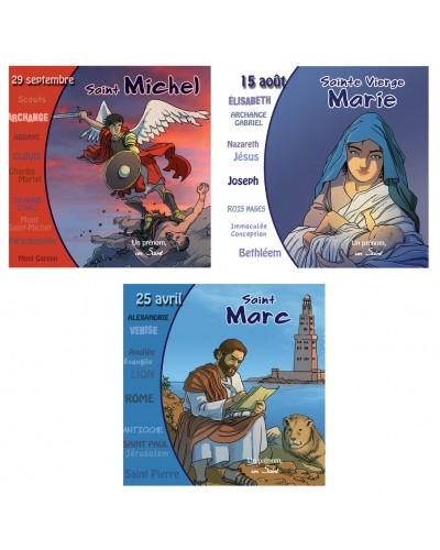 3 CD Sainte Vierge Marie, Saint Michel et Saint Marc (nouveautés)